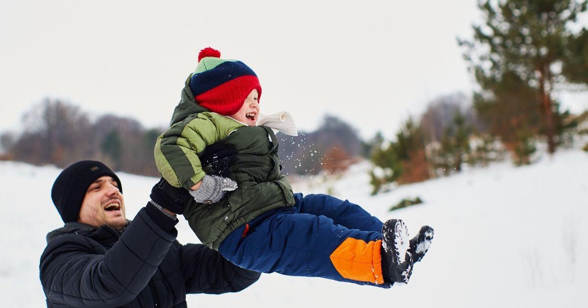 bambini e inverno